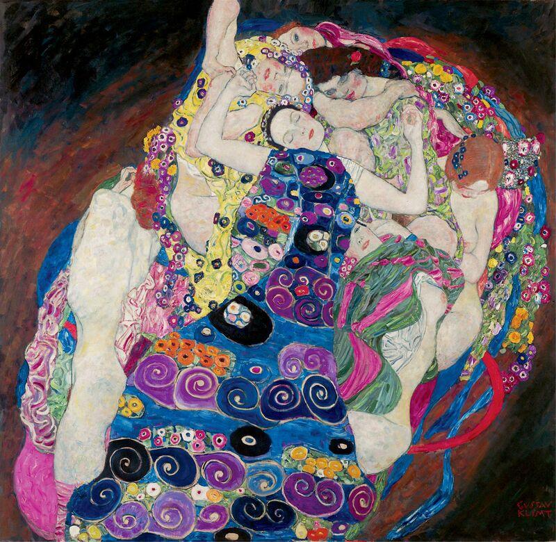 The Virgin - Gustav Klimt desde AUX BEAUX-ARTS Decor Image