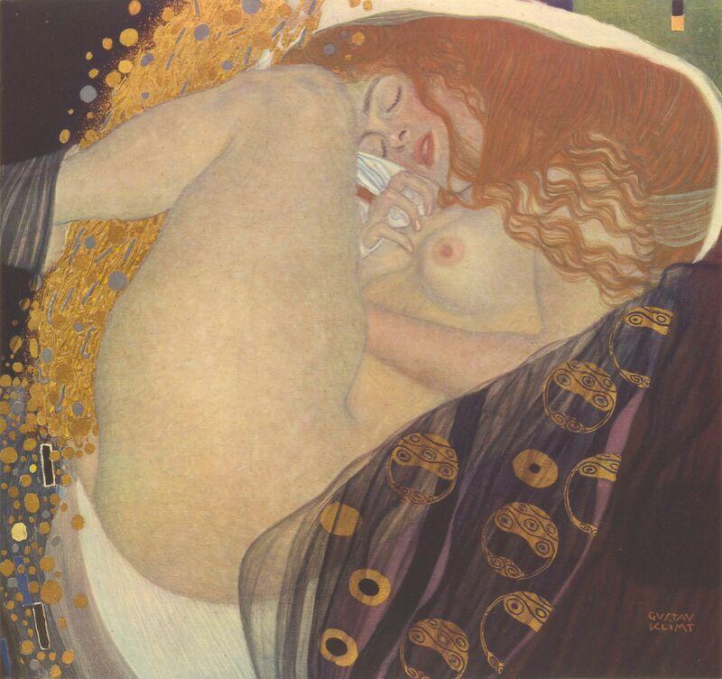 Danae I - Gustav Klimt de AUX BEAUX-ARTS Decor Image