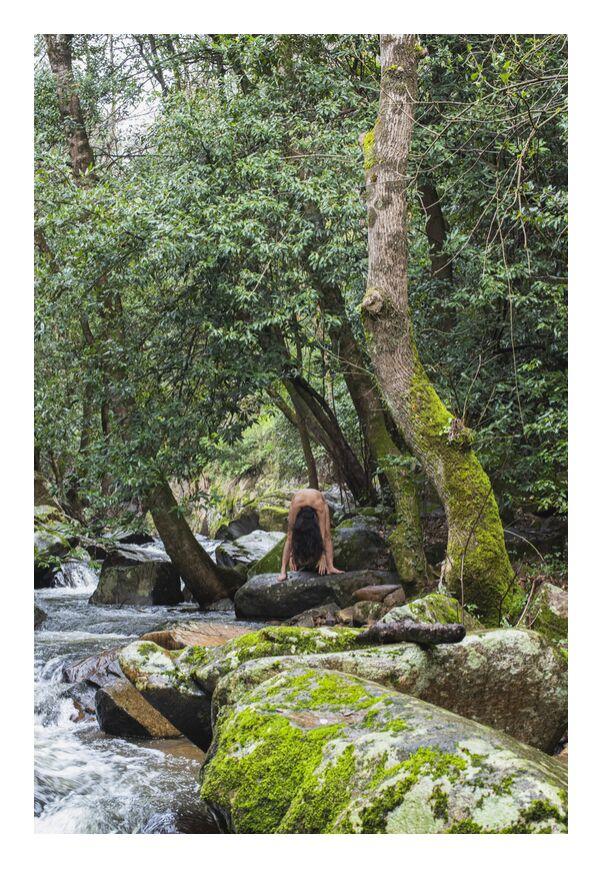 Delphine de Marie Guibouin, Prodi Art, marie guibouin, montolieu, rivière, nudité, femme
