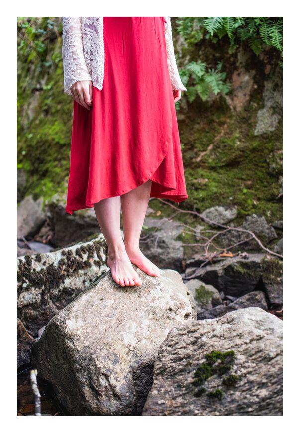 Tu es Puissante ! de Marie Guibouin, Prodi Art, Puissance, féminin, femme, rivière, nature