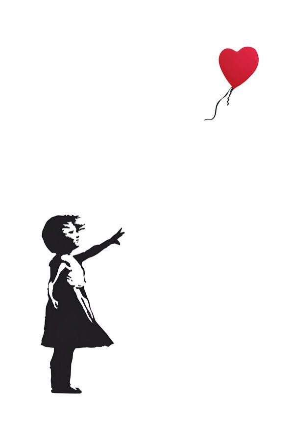 Balloon Girl - BANKSY from AUX BEAUX-ARTS, Prodi Art, street art, balloon, girl, banksy