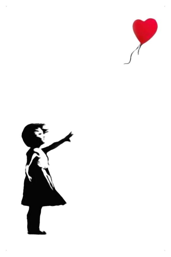 Balloon Girl - BANKSY from AUX BEAUX-ARTS, Prodi Art, street art, balloon, girl, banksy