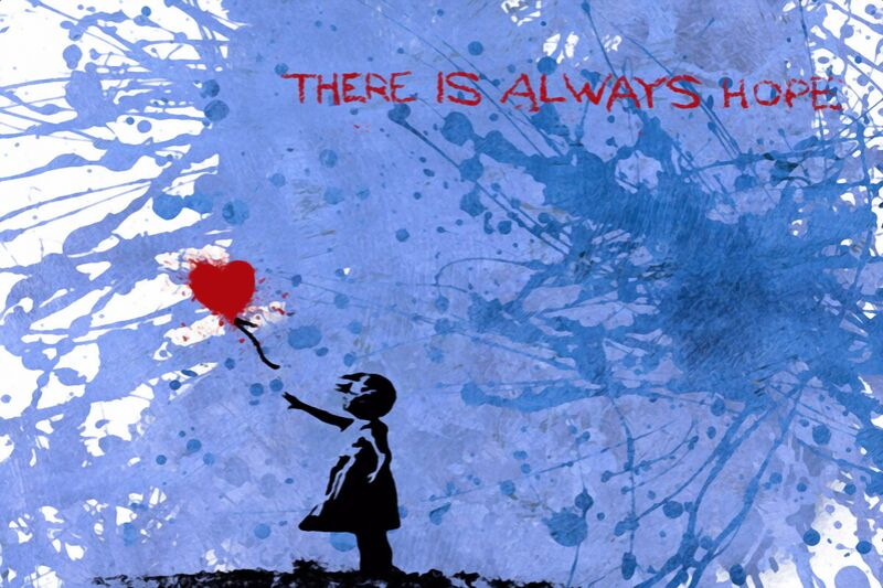 128 Balloon Girl - BANKSY from AUX BEAUX-ARTS Decor Image
