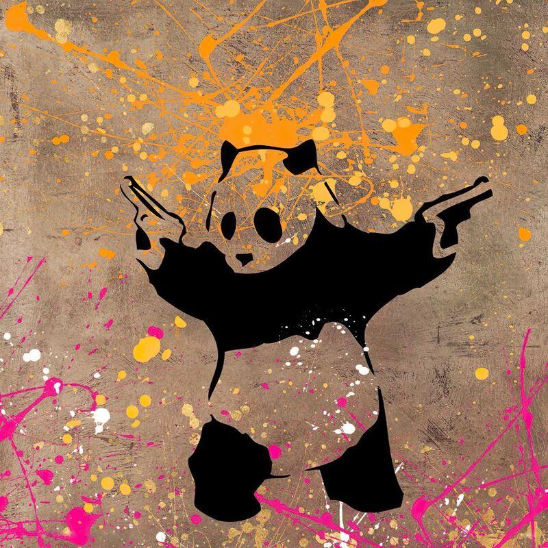 Le Panda avec des Flingues - BANKSY de AUX BEAUX-ARTS Decor Image