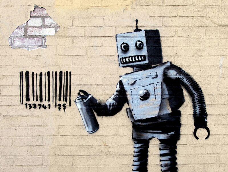 Robot - BANKSY from AUX BEAUX-ARTS Decor Image
