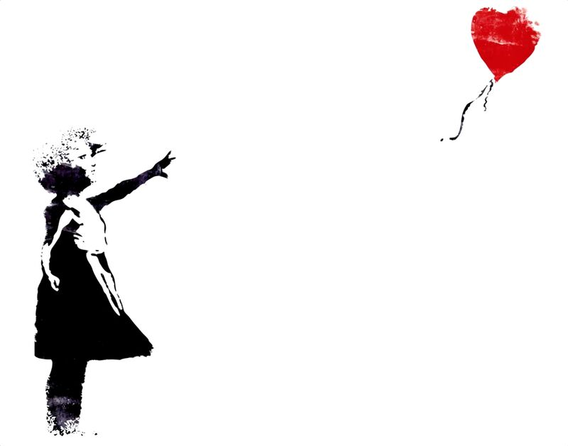 Heart Balloon - BANKSY from AUX BEAUX-ARTS Decor Image