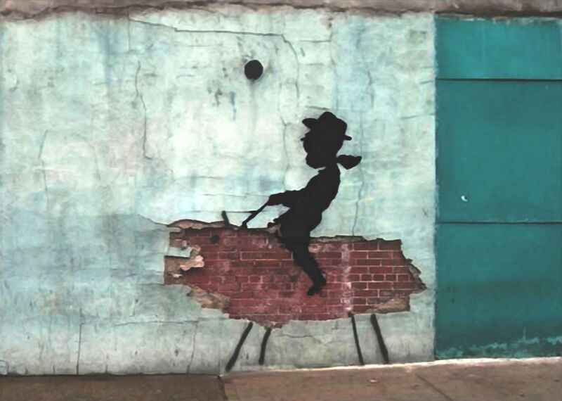 Pig - BANKSY from AUX BEAUX-ARTS Decor Image
