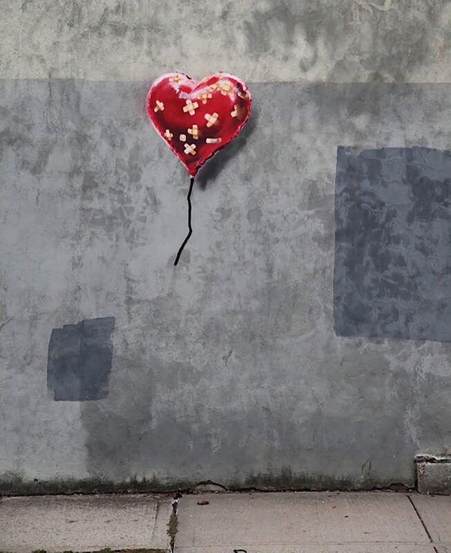 NY Love - BANKSY desde AUX BEAUX-ARTS Decor Image