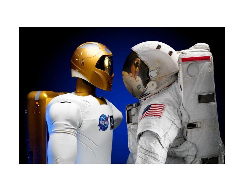 Cosmonauts from Pierre Gaultier, Prodi Art, astronaut, future, kosmonaut, robot, space, costume, travel, technology, astronaut costume