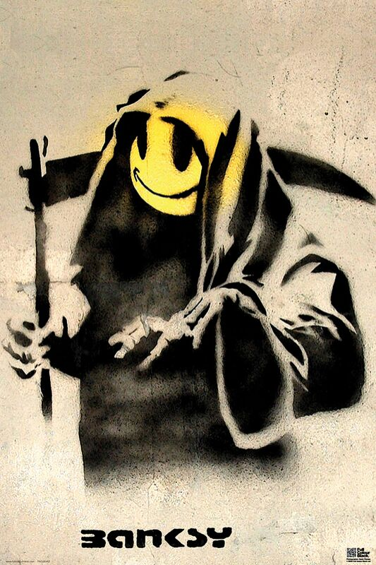 The Reaper - BANKSY from AUX BEAUX-ARTS Decor Image