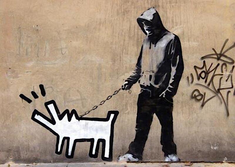 Dog - BANKSY desde AUX BEAUX-ARTS Decor Image