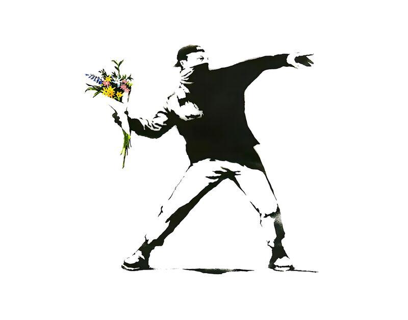 Flower Chucker - BANKSY from AUX BEAUX-ARTS Decor Image