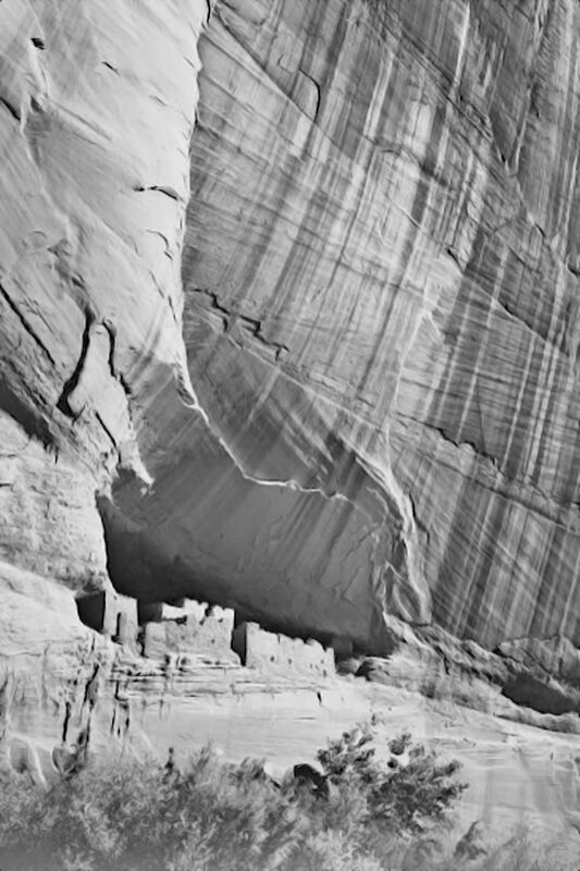 """View From River Valley """"Canyon De Chelly"""" National Monument Arizona - Ansel Adams from AUX BEAUX-ARTS Decor Image"""