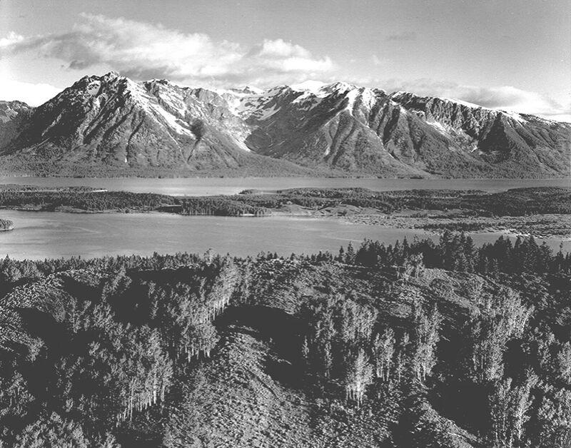 Grand Teton, National Park Wyoming - Ansel Adams desde AUX BEAUX-ARTS Decor Image