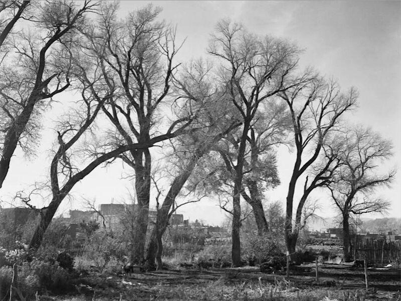 At Taos Pueblo National Historic Landmark - Ansel Adams from AUX BEAUX-ARTS Decor Image