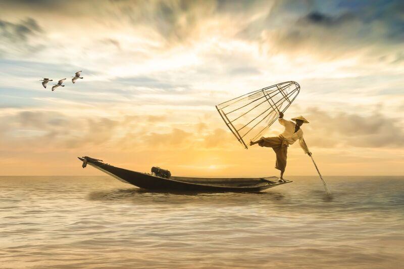Le pêcheur de Pierre Gaultier Decor Image