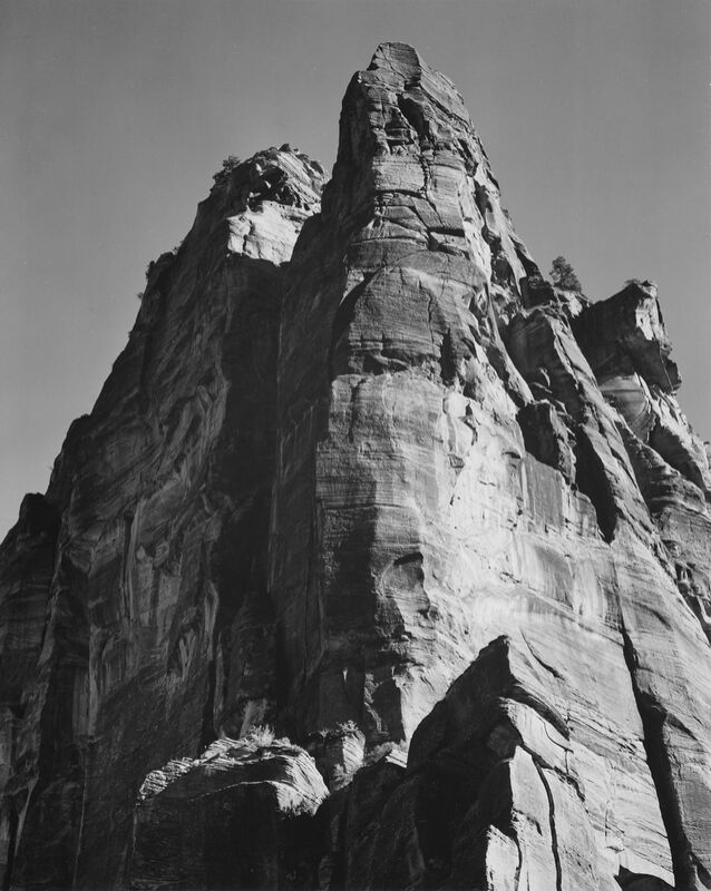 Rock Formation From Below - Ansel Adams desde AUX BEAUX-ARTS Decor Image