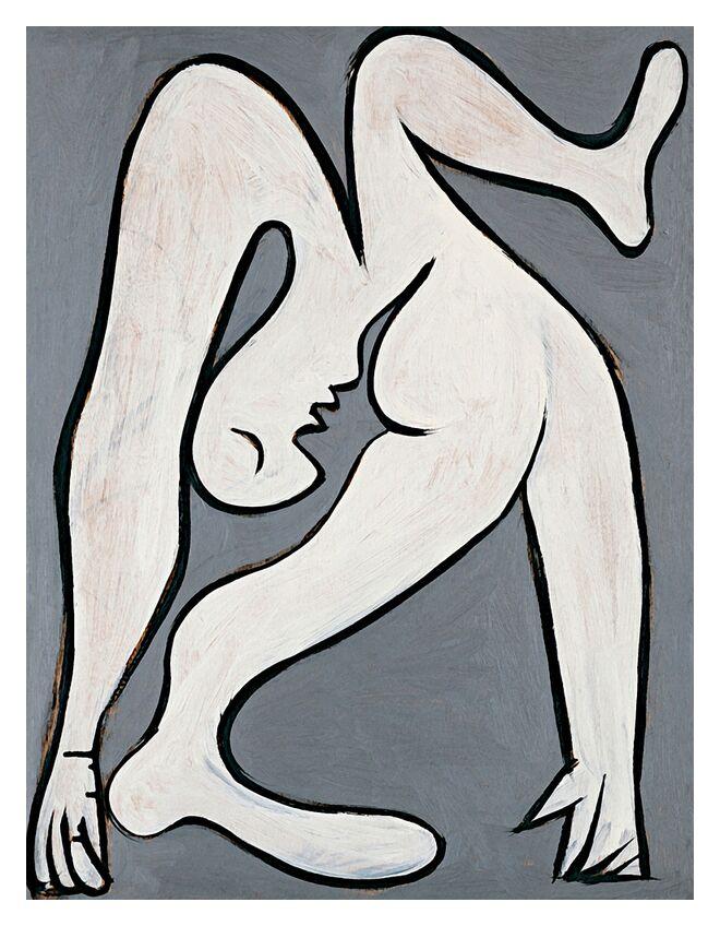 L'Acrobat - Picasso de AUX BEAUX-ARTS, Prodi Art, picasso, peinture, dessin, Acrobate