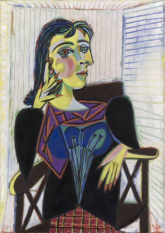 Portrait of Dora Maar - Picasso desde AUX BEAUX-ARTS Decor Image