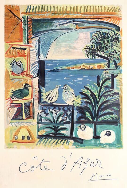 Côte d'Azur - The studio of Velazquez and his Pigeons - Picasso desde AUX BEAUX-ARTS Decor Image
