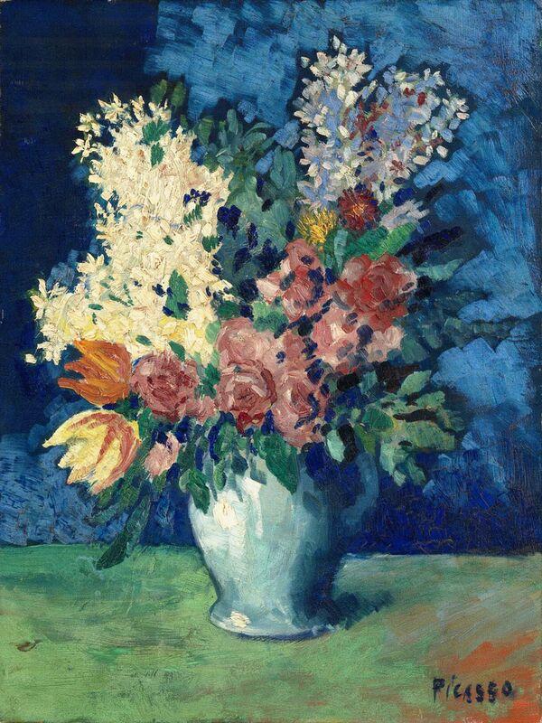 Flowers 1901 - Picasso desde AUX BEAUX-ARTS Decor Image