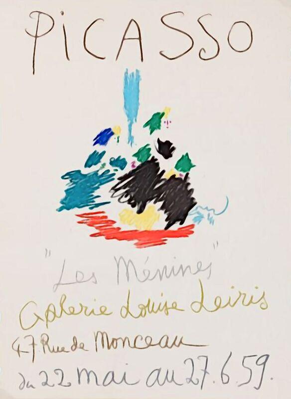 1959, Les Ménines - Picasso from AUX BEAUX-ARTS Decor Image