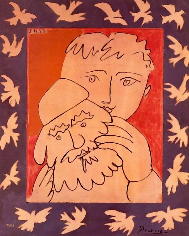 New Year - Picasso from AUX BEAUX-ARTS Decor Image
