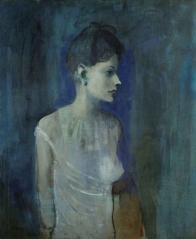 Girl in a Chemise - Picasso desde AUX BEAUX-ARTS Decor Image
