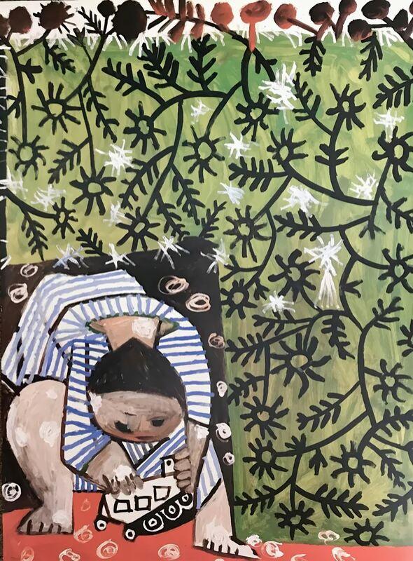 Enfant Jouant - Picasso de AUX BEAUX-ARTS Decor Image