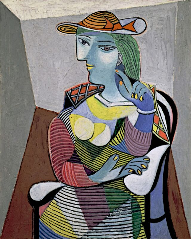 Portrait of Marie-Therese - Picasso desde AUX BEAUX-ARTS Decor Image