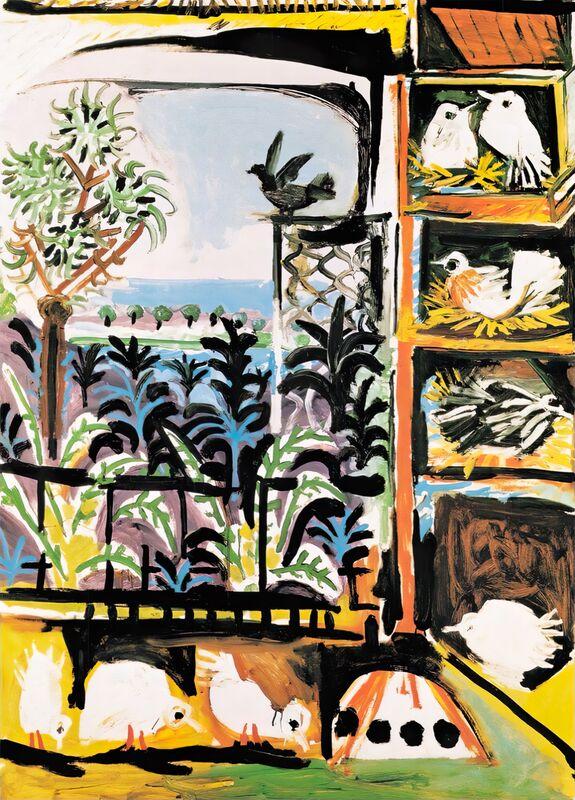 The Pigeons 1957 - Picasso desde AUX BEAUX-ARTS Decor Image