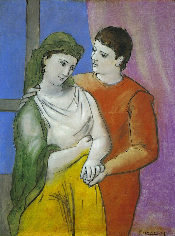 The Lovers - Picasso desde AUX BEAUX-ARTS Decor Image