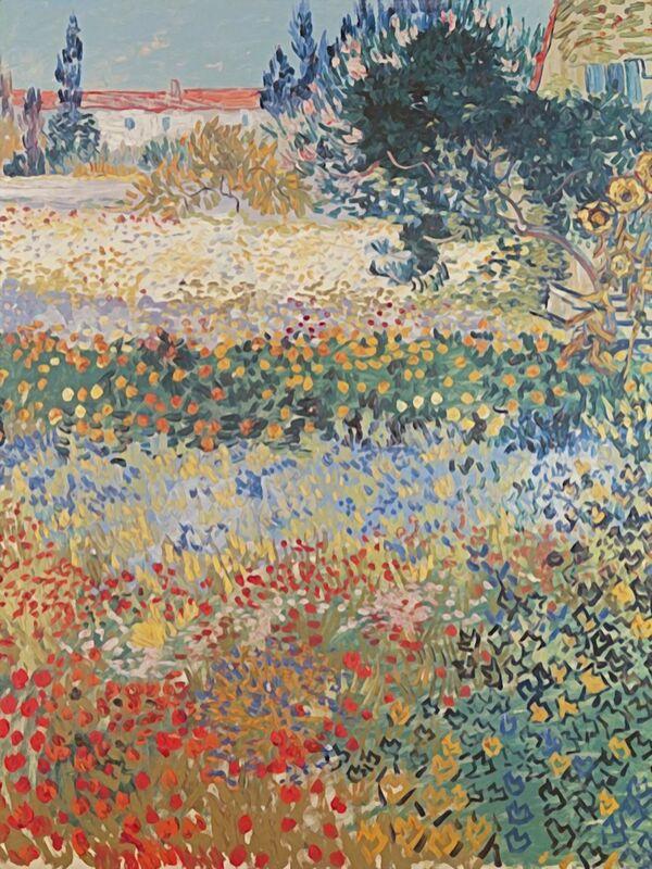 Garden in Bloom Arles - Van Gogh from AUX BEAUX-ARTS Decor Image