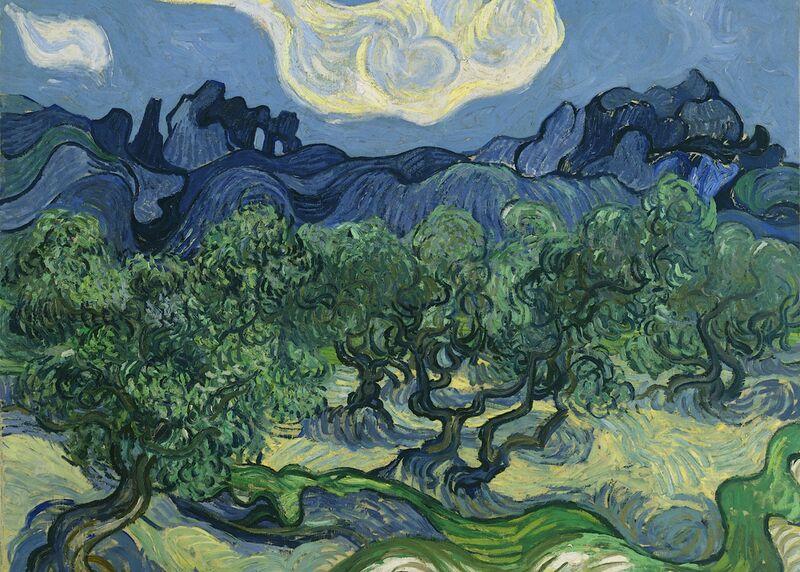 The Olive Trees - Van Gogh desde AUX BEAUX-ARTS Decor Image