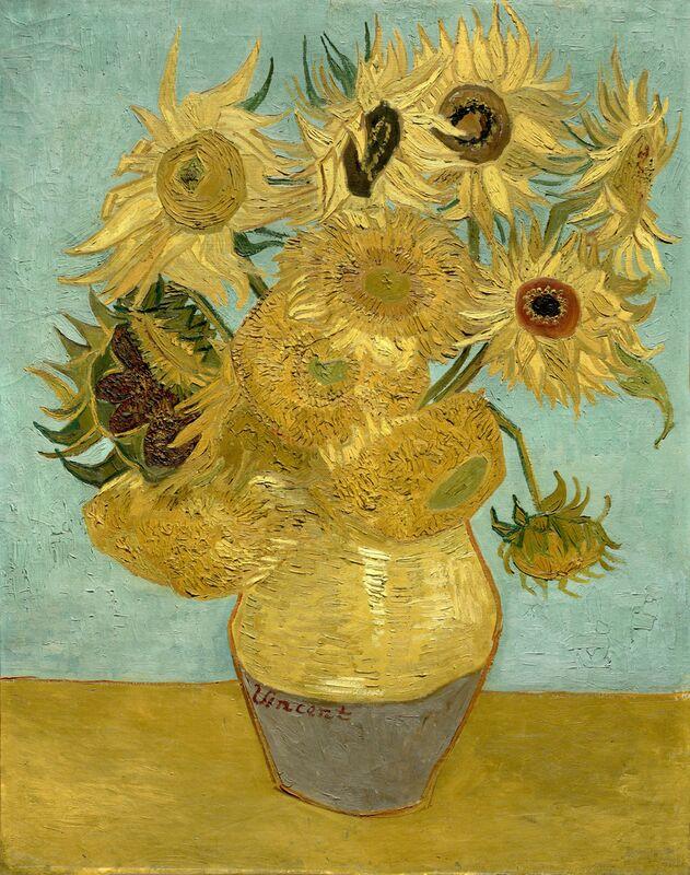Sunflowers - Van Gogh from AUX BEAUX-ARTS Decor Image