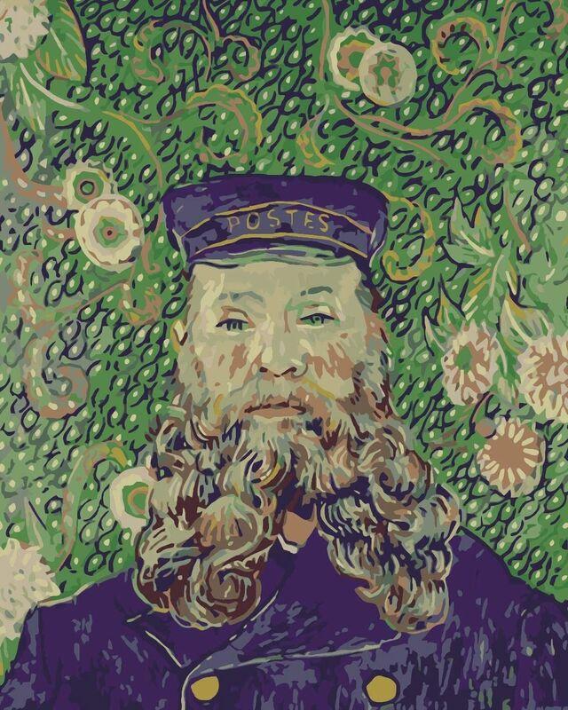 Portrait of the Postman Joseph Roulin - Van Gogh from AUX BEAUX-ARTS Decor Image
