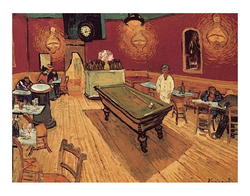 Night Cafe - Van Gogh desde AUX BEAUX-ARTS, Prodi Art, Van gogh, pintura, café, billar