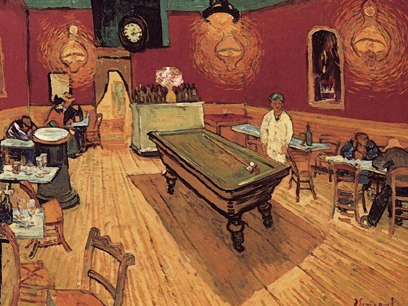 Night Cafe - Van Gogh desde AUX BEAUX-ARTS Decor Image