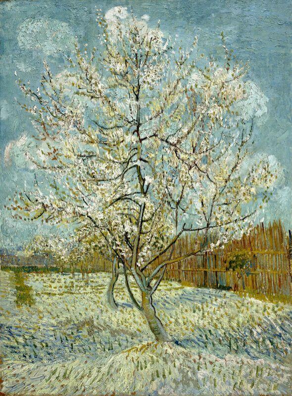 The Pink Peach Tree - Van Gogh desde AUX BEAUX-ARTS Decor Image