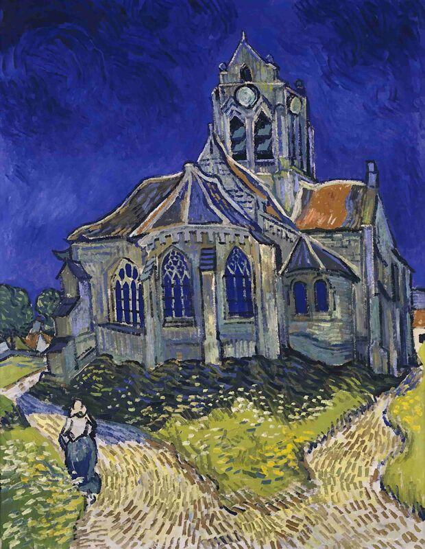 Auvers - Van Gogh from AUX BEAUX-ARTS Decor Image