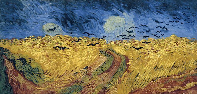 Wheatfield with Crows - Van Gogh desde AUX BEAUX-ARTS Decor Image
