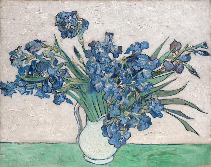 Irises - Van Gogh from AUX BEAUX-ARTS Decor Image