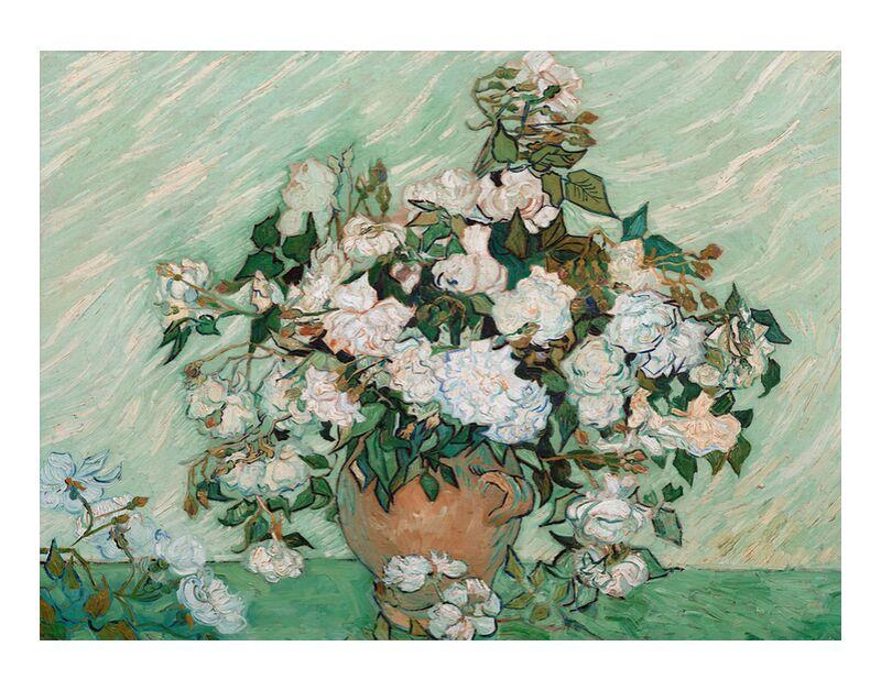 Roses - Van Gogh desde AUX BEAUX-ARTS, Prodi Art, Van gogh, pintura, rosas, bodegón