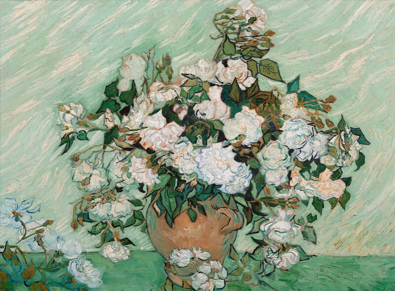 Roses - Van Gogh from AUX BEAUX-ARTS Decor Image