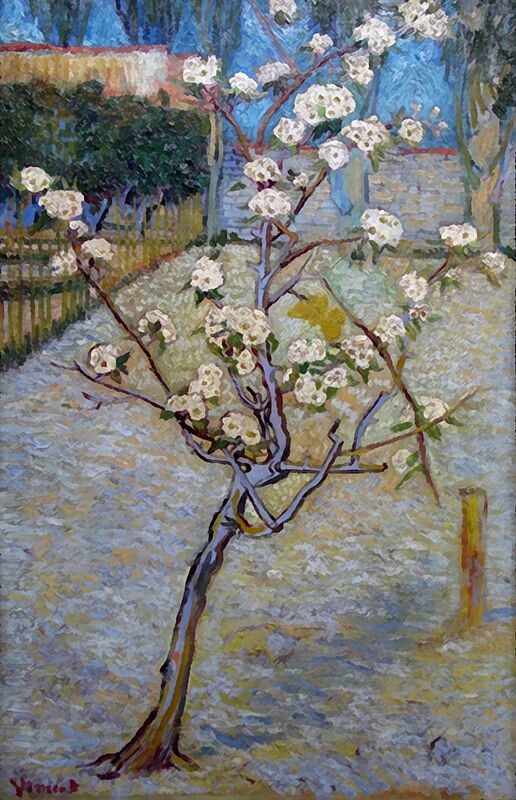 Peartree - Van Gogh from AUX BEAUX-ARTS Decor Image