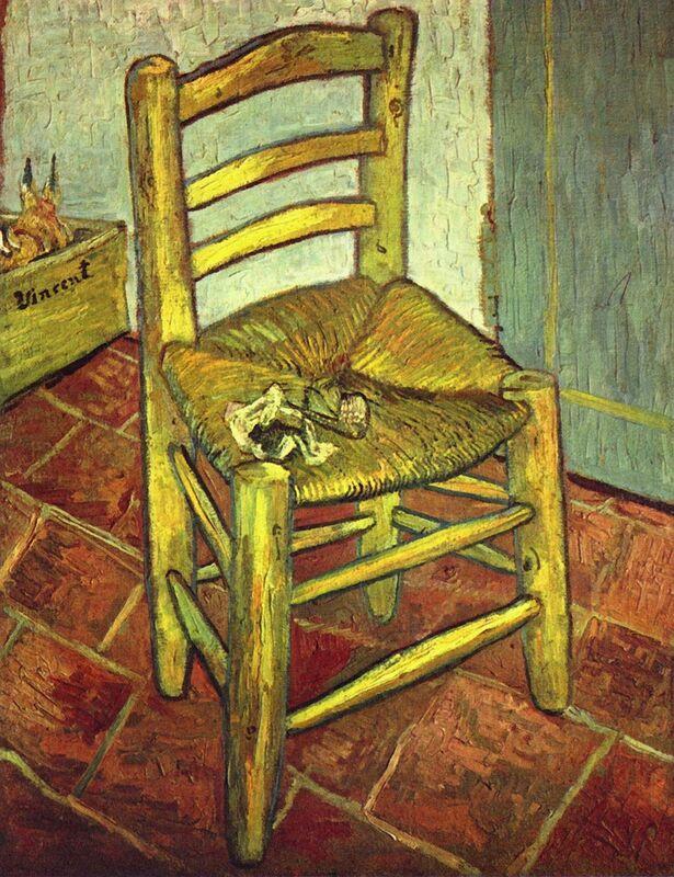 Chair - Van Gogh desde AUX BEAUX-ARTS Decor Image