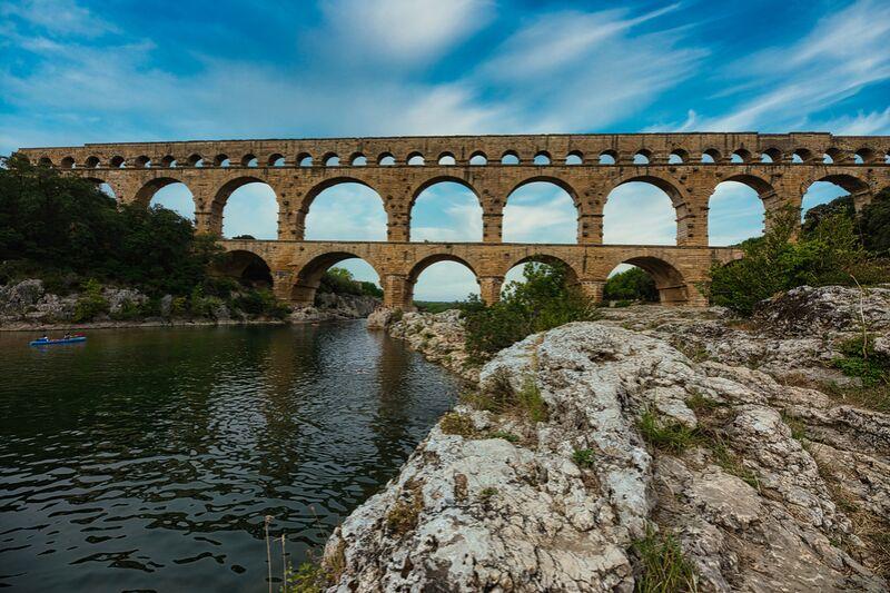 Le pont du Gard de Céline Pivoine Eyes Decor Image