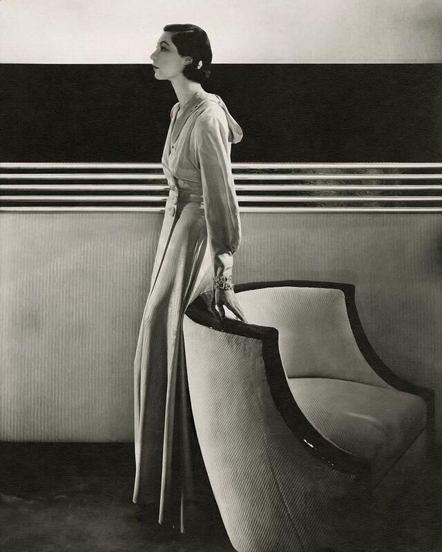 Vogue, November 1933 - Edward Steichen desde AUX BEAUX-ARTS Decor Image