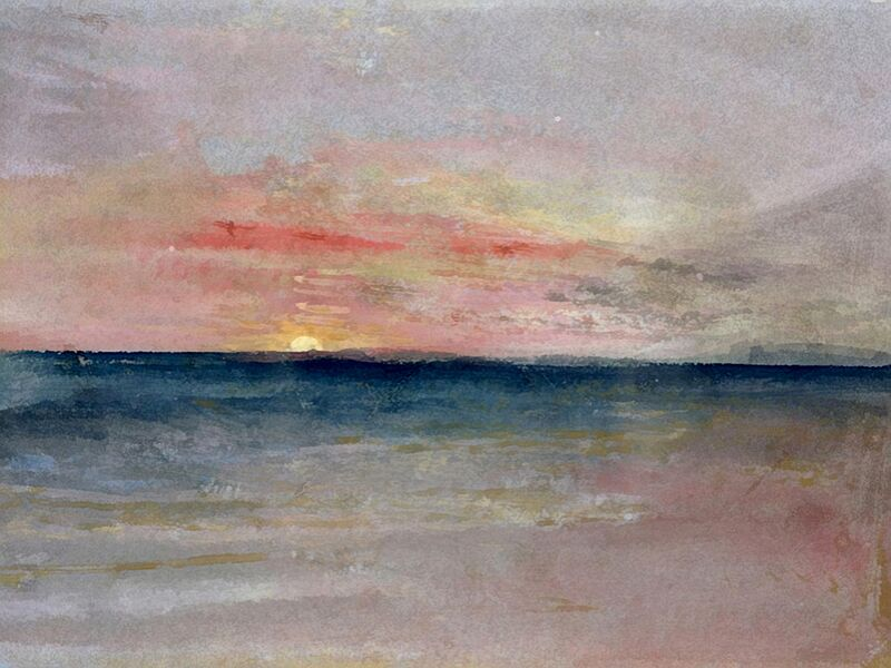 Sunset - TURNER from AUX BEAUX-ARTS Decor Image