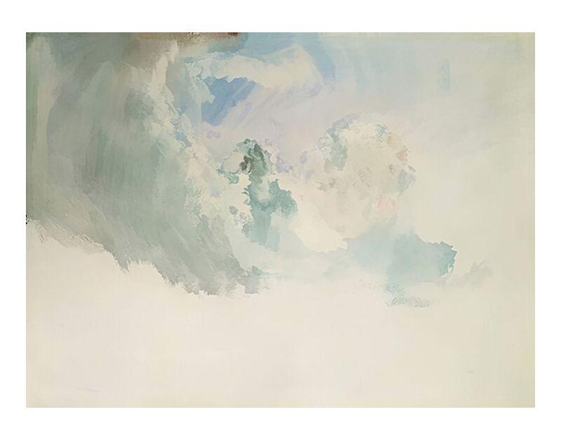 Étude du Ciel - TURNER de AUX BEAUX-ARTS, Prodi Art, TOURNEUR, ciel, tester, nuages, étude